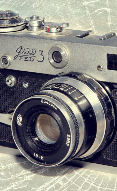 "Вектор времени – фотоаппарат ""ФЭД"""